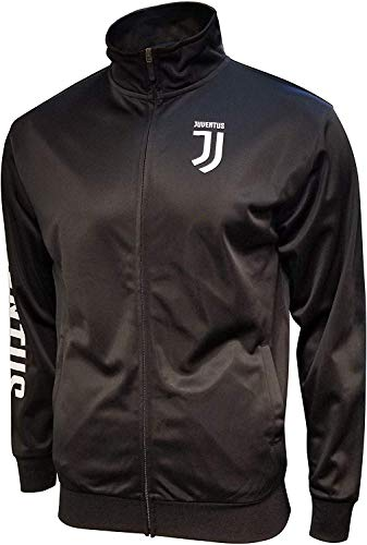 Icon Sports Men Compatible with Juventus Official License Zipper Soccer Jacket Large 003