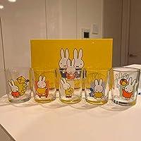 ミッフィー グラス5個セット 日本製