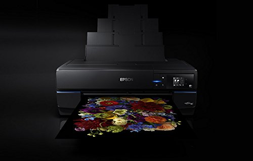 Epson SC-P800 - Impresora de tinta (2880 x 1440 DPI, 220 - 240 V, 50/60 Hz, A2, Papel fotográfico, Papel normal, Rodillo, USB), Ya disponible en Amazon Dash Replenishment