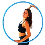 Weighted Hula Hoop for Exercise. Your Choice of Color. Made in...