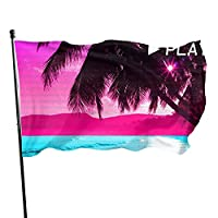 Tuposumilky Way The Moon 3x5 Foot Flag Outdoor Flags Single-Layer Translucent Polyester 3x5 Ft