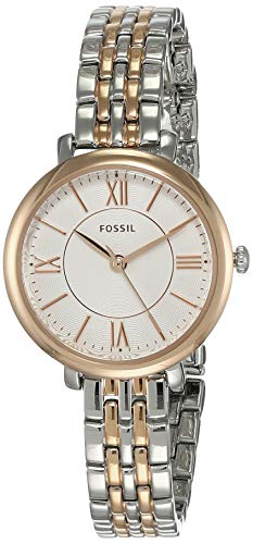 Fossil Women's Jacqueline Mini ES4612 White Stainless-Steel Japanese Quartz Fashion Watch