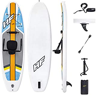 Hydro-Force White Cap Inflatable Stand Up Paddle Board, 10' x 32