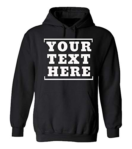Custom Hoodies - Design Your Own Pullover Sweatshirts - Personalized Hoodys with Designs