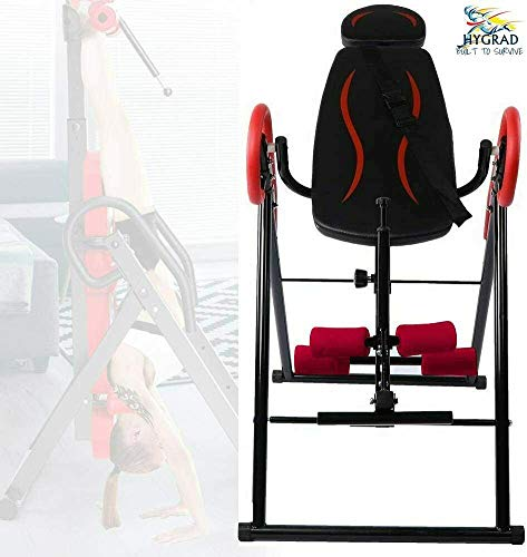 HYGRAD EXERCISE INVERSION TABLE INVERT ALIGN THERAPY BENCH REDUCE BACK/NECK PAIN