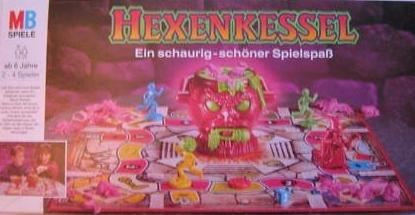 Hexenkessel - Ein schaurig schöner Spielspaß [Brettspiel].
