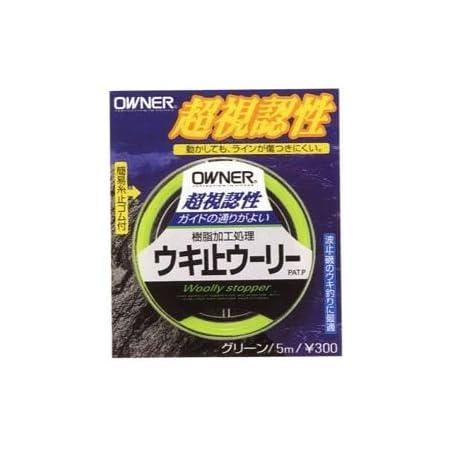 オーナー(OWNER) ウキ止メウーリー ピンク 81111
