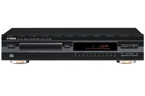 Yamaha CDX 396 CD-Player schwarz