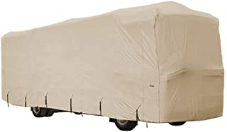 Goldline Class A RV Covers by Eevelle | Waterproof Fabric | Tan and Gray