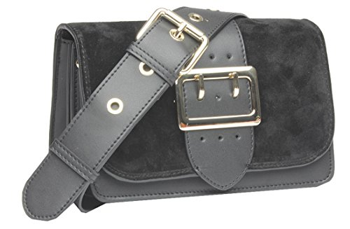 Closure: Magnetic Snap and zipper closure are designed for the safety of your properties. Structure: A generous main pockets including 3 interior pockets,will keep you organized. Strap: Come with a removable and adjustable shoulder strap ,can be used...