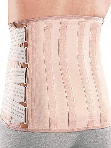 Roten | sat | Cinturon de mujer | Faja lumbar para dolor de espalda y para diastasis | Fajas post cirugia | Semirrígido | M