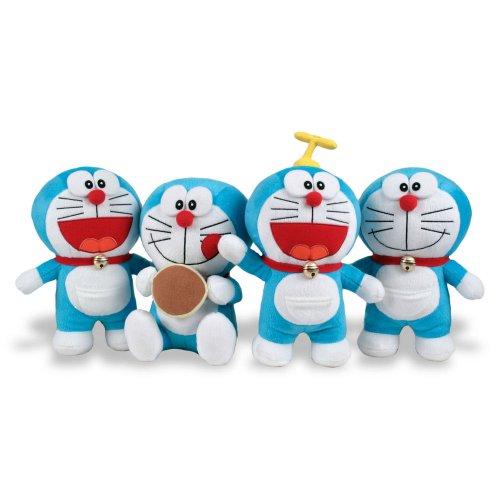 Peluche Doraemon velboa T1 20/22cm surtido
