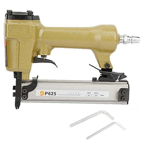 NIDONE Aire Pin Clavadora Grapadora neumática P625 10-25mm Clavo de la Herramienta...