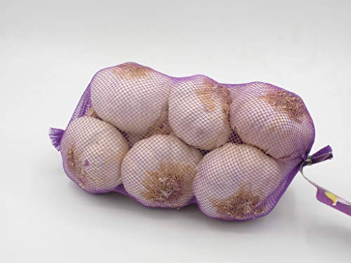 Ajo Morado - 5 große Knollen Violetter Spring Knoblauch aus Las Pedroñeras -