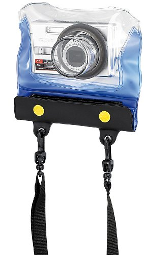 Somikon Unterwasserschutz Kamera: Unterwasser-Kameratasche Z-38 mit Objektivführung (wasserdichte Tasche für Kamera)