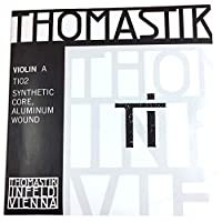 トマスティーク ヴァイオリン弦 TI A線 4/4 ミディアムテンション シンセティックコア/アルミ巻 TI02
