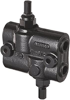"""Prince DRV-2HH Double Relief Valve, Differential Poppet, Cast Iron, 3000 psi, 30 gpm, 3/4"""" NPTF from Prince Manufacturing"""