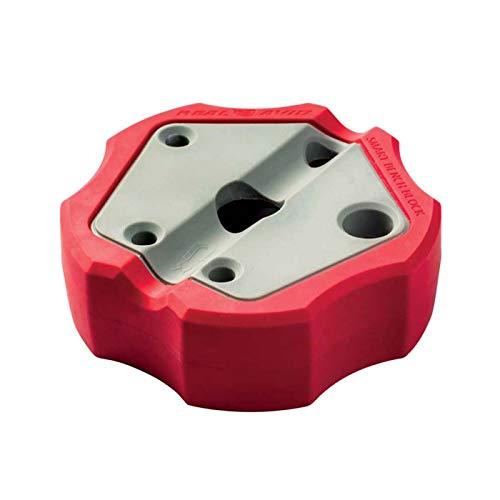 Real Avid Smart Bench Block: Non-Slip, Magnetic Universal Gunsmithing Bench Block, Engineering Resin Helps Protect Gun Finish, Magnet Prevents Loosing Unfastened Pins