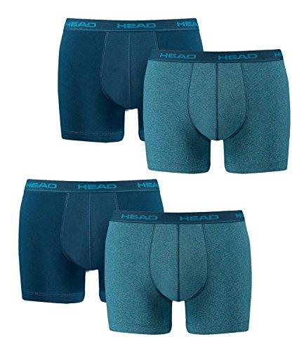 HEAD Men Boxershort Basic Boxer 4er Pack, Größe:XL;Farbe:blue heaven (494)