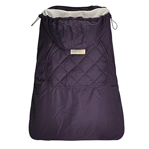 Bebamour Winterbezug für Babytrage Warmer Universal Hoodie Babytragebezug für alle Jahreszeiten (Vilotte)