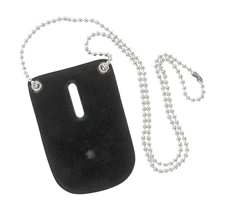 Safariland Badge Holder for Police, Sheriff, Security with Neck Chain Black 7352-2