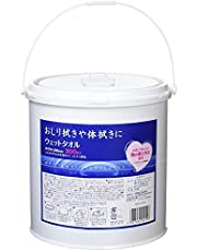 昭和紙工 ウェットタオル 体拭き ノンアルコール 300枚 業務用