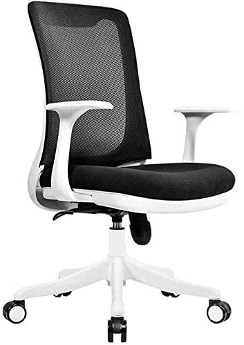 n.g. Wohnzimmeraccessoires Drehstuhl Bürostuhl Ergonomischer Stuhl Computerstuhl Kippfunktion Verstellbarer Bürostuhl Kniestuhl Grau