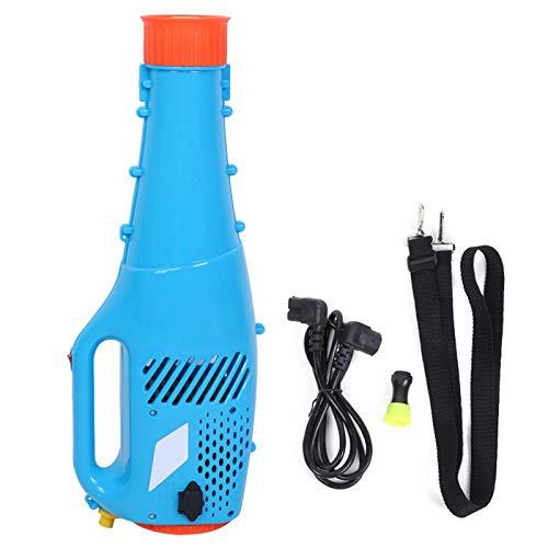 Ladieshow Ventilador de pulverización, pulverizador eléctrico agrícola de jardín portátil de 12 V, pulverizador de Niebla insecticida de pesticidas