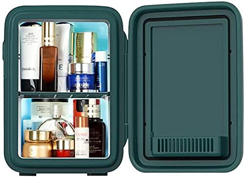Refrigerador De Belleza Portátil AC/DC Mini Nevera 10L Enfriador/Calentador Termoeléctrico Gran Regalo para El Cuidado De La Piel Y Los Cosméticos.