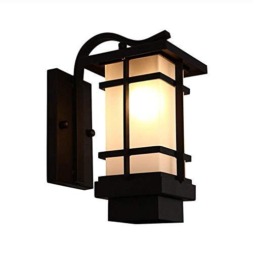 DXYSS Lámpara de Pared para Exteriores Villa La iluminación Exterior Impermeable de Aluminio de Lujo Retro luz balcón Exterior, Garaje, Porche Delantero Escaleras Corredor lámpara de Pared