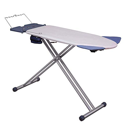 Mabel Home Extra-Wide ironing Pro Board with Shoulder Wing Folding, 8 Feature,...