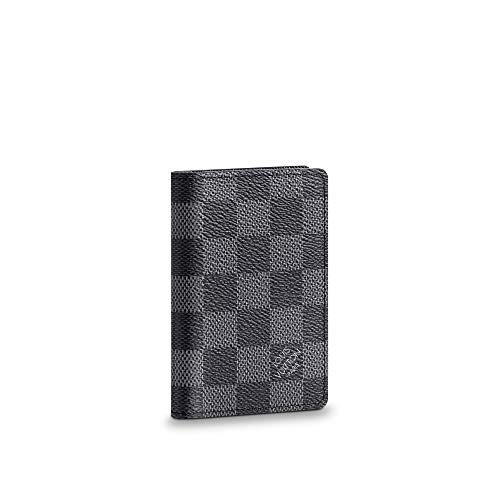 Authentic and Brand New 2.8 x 4.3 x 0.4 inches (Length x Height x Width) 5 interior pockets - 1 exterior pocket - 3 credit cards slots Coated Canvas - Cowhide Leather lining Made in France or Made in Spain