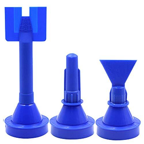 Gesh Cono especial para el calafateo de la bolsa de repuesto punta de boquilla para sellador de silicona dispensador de jarnge accesorio