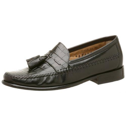 Florsheim Men's Pisa Tassel Loafer,Black,10 1/2 D