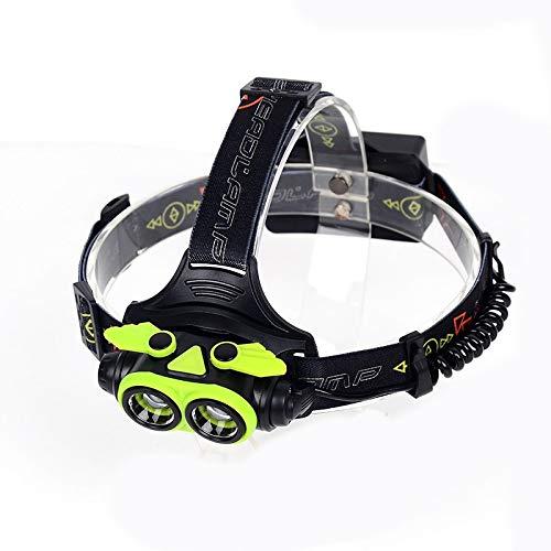 Linterna frontal LED 25000 LED linterna frontal recargable por USB linterna frontal linterna para