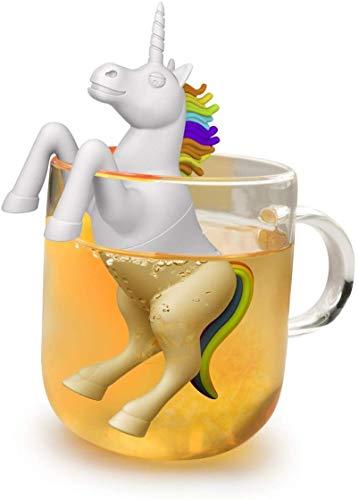 Cutie Einhorn Tee-Ei | Lustiges Silikon Teesieb als Geschenk
