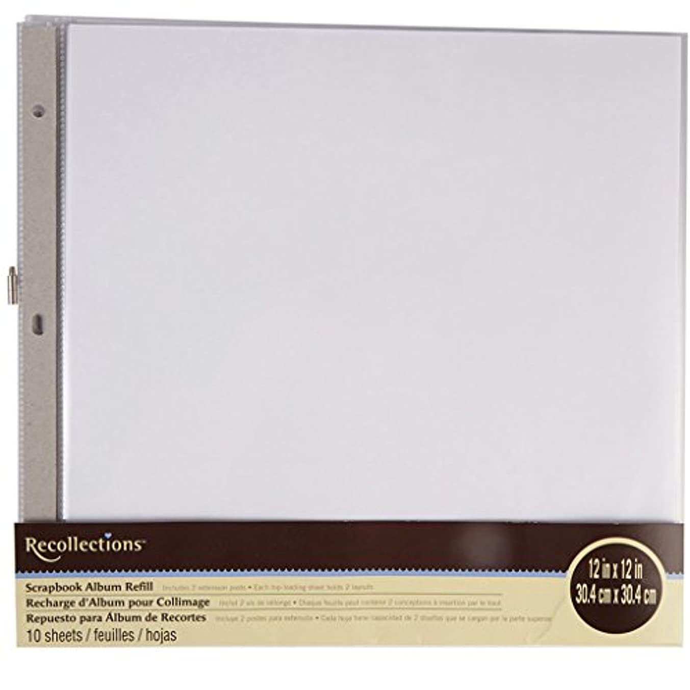 Recollections Scrapbook Album Refill Pages (12 x 12)