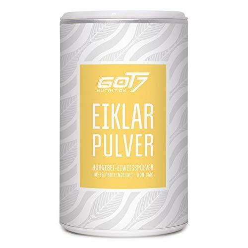 Got7 Eiklar Pulver Hühnereiweiss Aufschlagfähig Ei-Protein FooxFluff 150g
