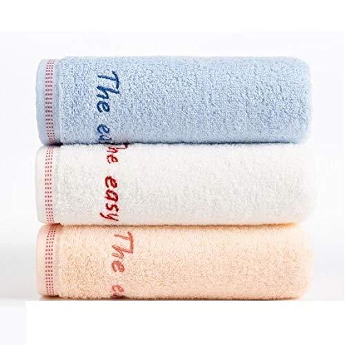 HXOUDAN 3 stuks 34 x 74 cm katoenen doek waterabsorberend badkamer keuken douche home hotel voor volwassenen handdoeken voor kinderen