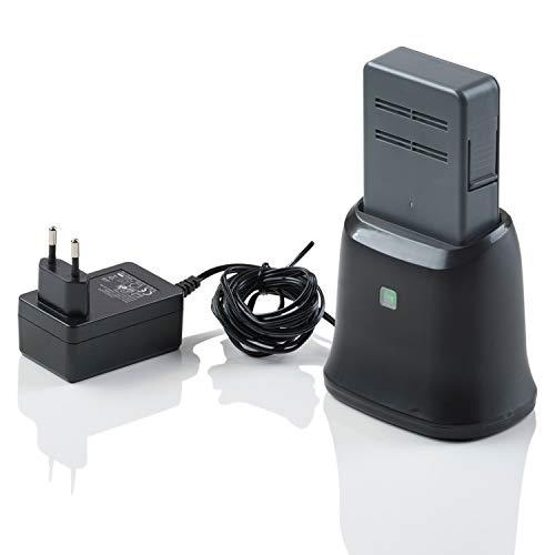 Genius Invictus M5 Akku Staubsauger kabelloser Staubsauger Handstaubsauger 35.000 U/Min | 160 Watt | 3 in 1 | LED-Lichter | Bodenstaubsauger | 3tlg. Akku inkl. Ladestation)