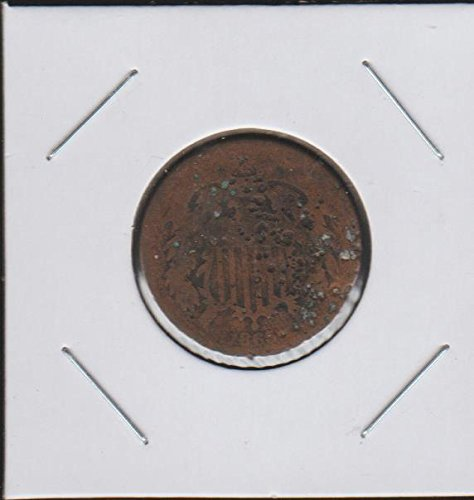 1865 Shield (1864-1873) Two-Cent About Good