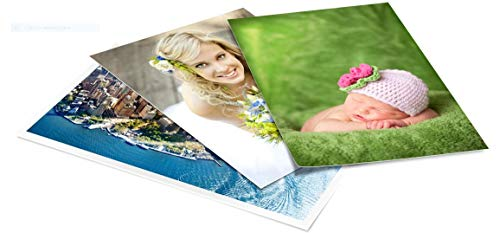 Papel fotográfico brillante autoadhesivo - (A4, 130 g/m², 50 hojas)