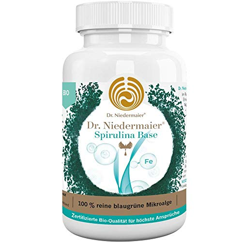 Dr. Niedermaier Spirulina Base Bio I - Granulado (3 x 120 g)