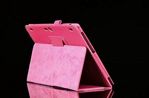 Funda Caso para Lenovo Tab 2 A10-70F 10.1 Pulgadas Smart Cover Slim Case Stand Flip (Rosa) NUEVO