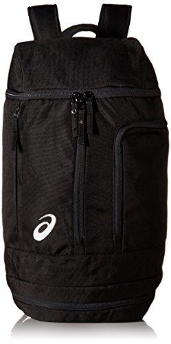 ASICS Unisex-Erwachsene Tm X-over Backpack Rucksack, schwarz/schwarz, Einheitsgröße