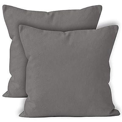 Encasa Homes Throw Cushion Cover 2pc Set