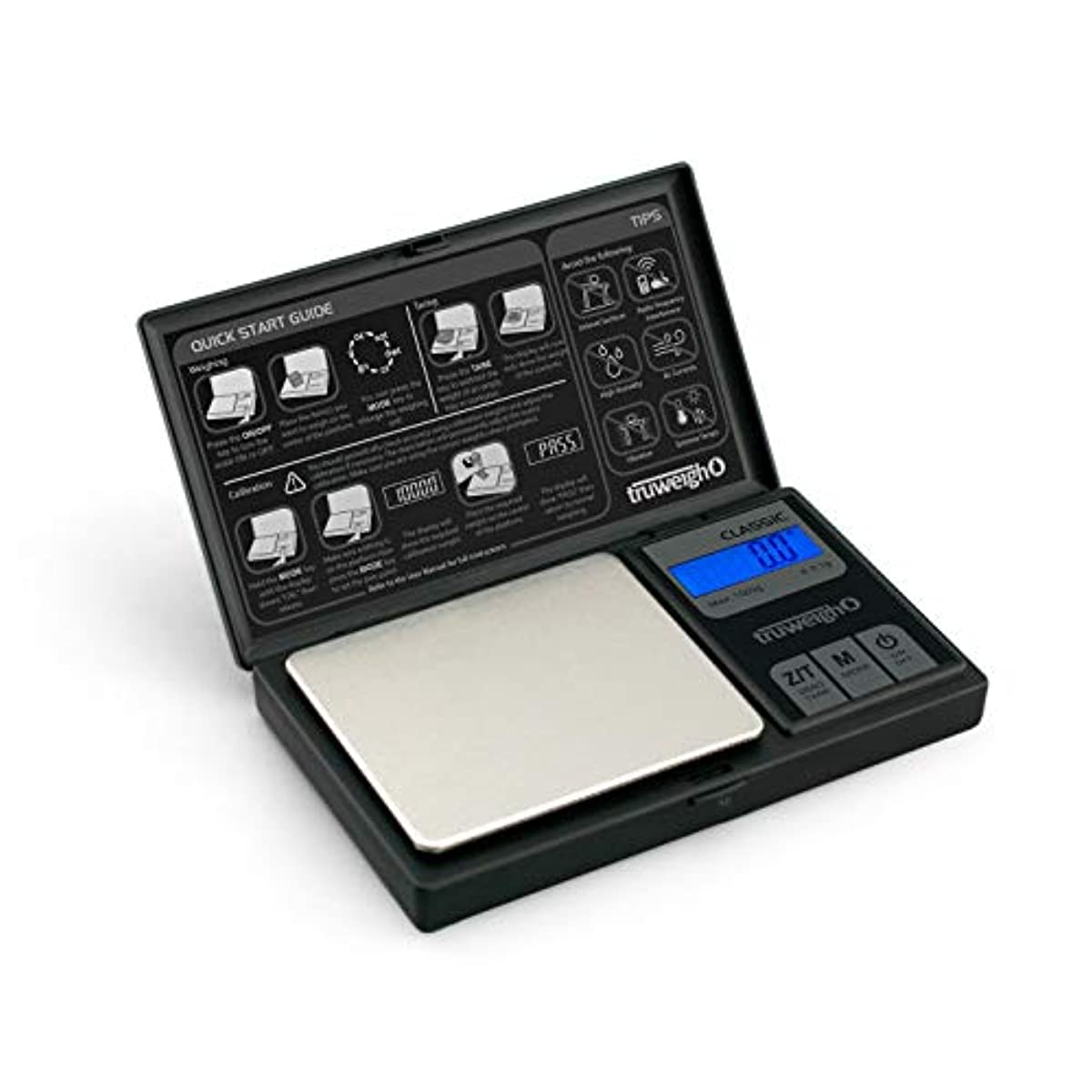 CLASSIC Digital Mini Scale 1000g x 0.1g Black