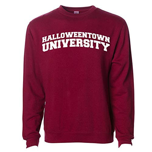 InkThread Halloween Town University Crew Sweatshirt Maroon