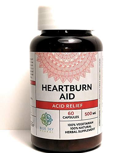 Blue Sky Herbal Acid Reflux - Herbal Supplement - 60 Caps