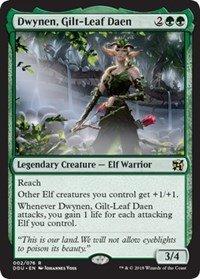 Wizards of the Coast Dwynen, Gilt-Leaf Daen - Duel Decks: Elves vs. Inventors